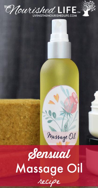 recipe oil Adult massage