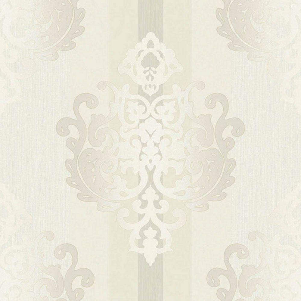 Rasch Tapete Deha 006420 Rasch Textil Vinyltapete Ornament Cremeweiss