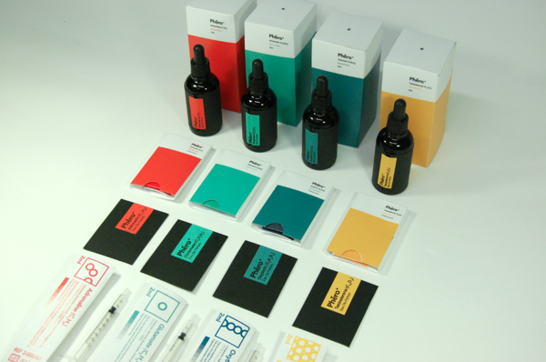 A medical packaging for a brand new perfume by Sam Lane ...