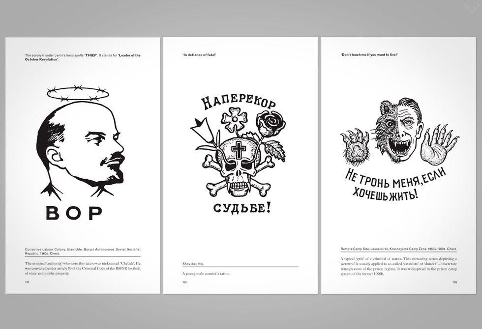 Russian Tattoo Meanings Wiki: Russian Criminal Tattoo Encyclopaedia Set