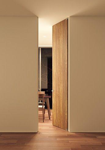 ドアの種類を知る 室内ドア 家のインテリアデザイン リビング ドア