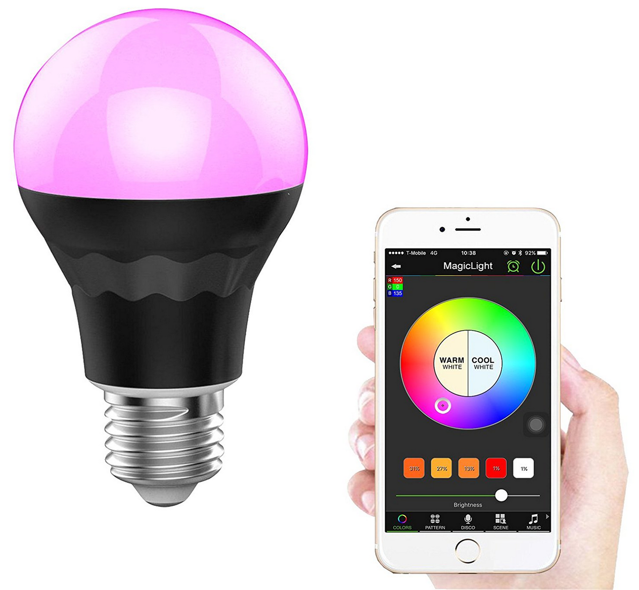 Discover 10 Of The Best Smart Led Light Bulbs Read Through The Reviews And Buy One That Is In Line With Your Smart Light Bulbs Led Night Light Led Light Bulb