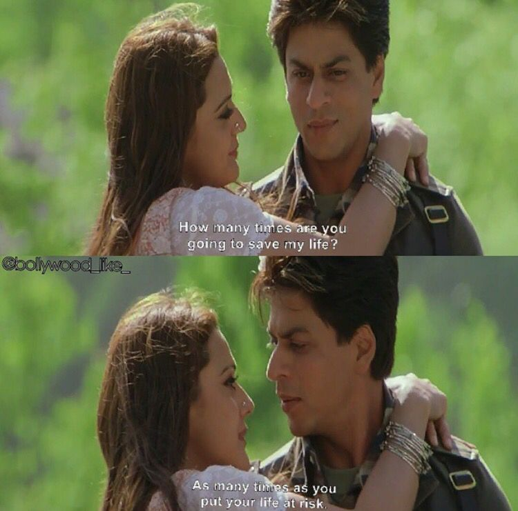 Veer Zaara Bollywood Quotes Movie Quotes Shah Rukh Khan Quotes