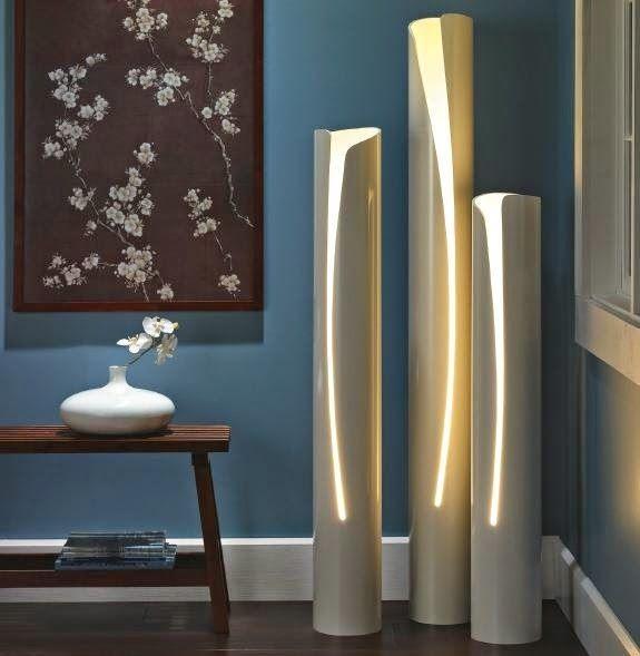 creare una lampada con il riciclo creativo dei tubi in pvc | idee ... - Lampade Riciclo Creativo