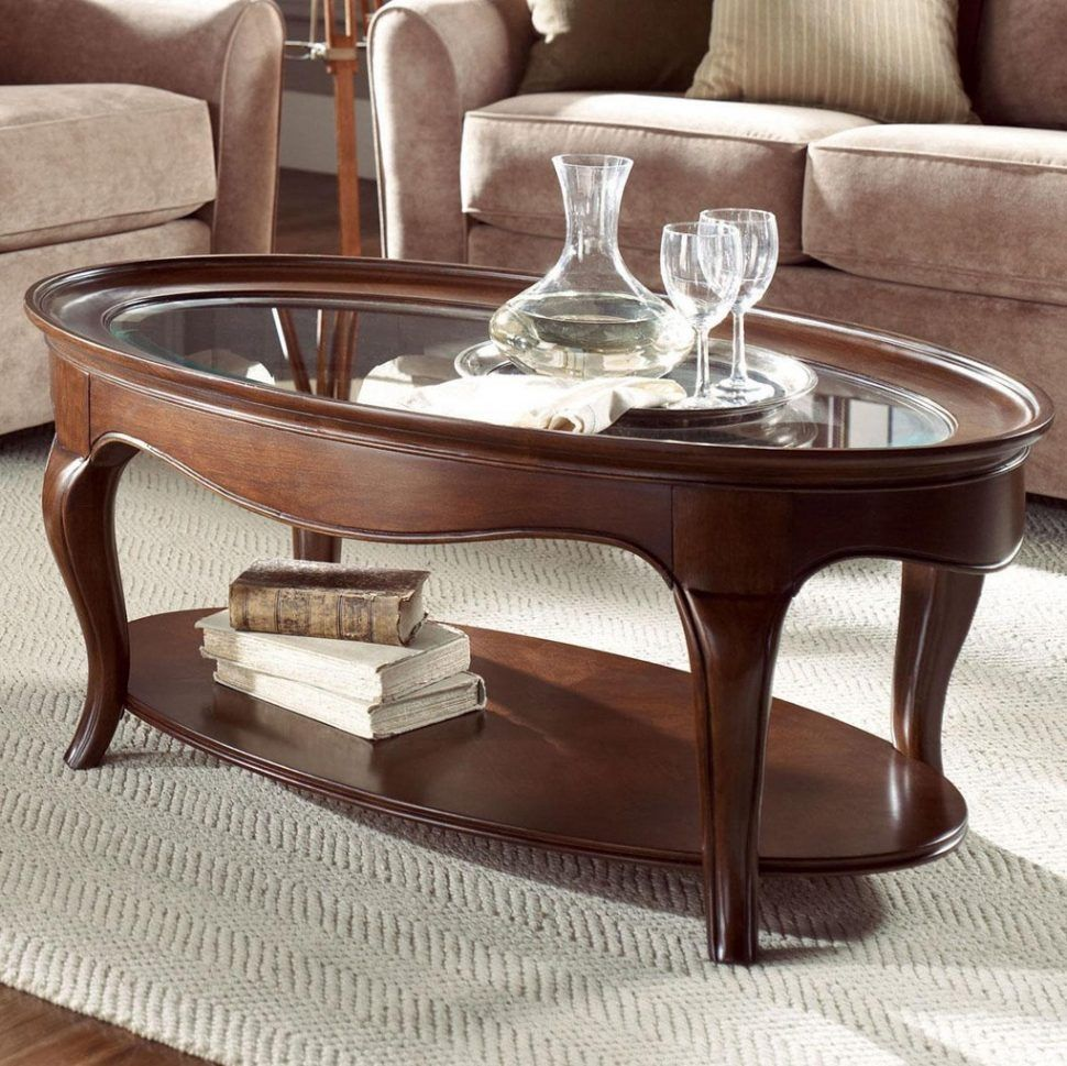 small scale oval coffee table - Small Scale Coffee Tables
