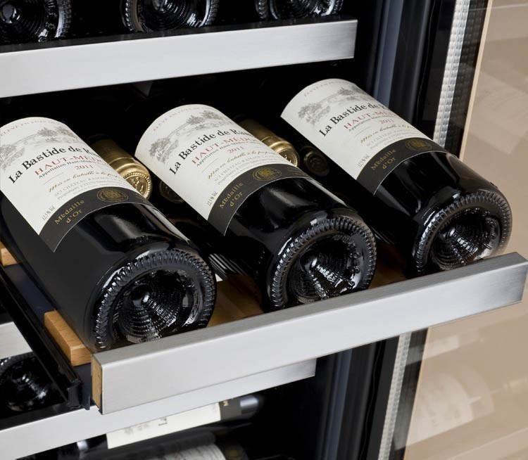 15 wine refrigerator stainless steel door handles