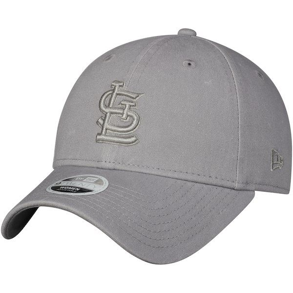 low priced 675cb eb56c St. Louis Cardinals New Era Women s Core Classic Twill 9TWENTY Adjustable  Hat Gray  StLouisCardinals