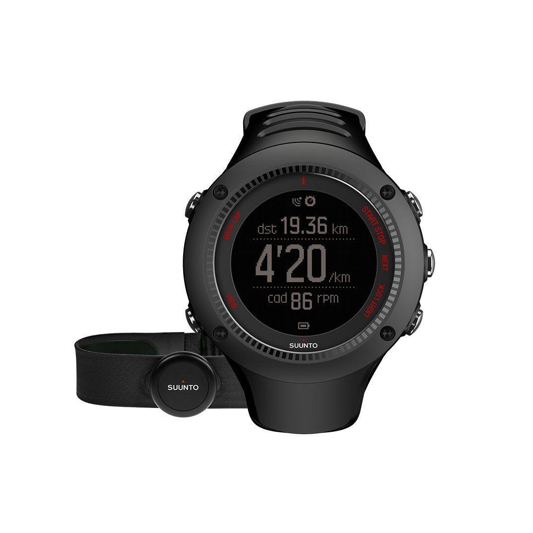 Cheaper prezzi incredibili comprare a buon mercato Suunto Ambit3 Run HR, Orologio GPS con fascia cardio, Nero: Amazon ...