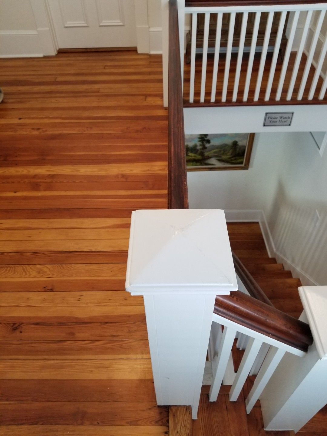 Best Sand And Finish Of Old Heart Pine Floors And Stair Treads 400 x 300