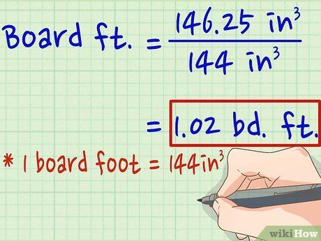How To Calculate Board Feet Calculator Boards Feet