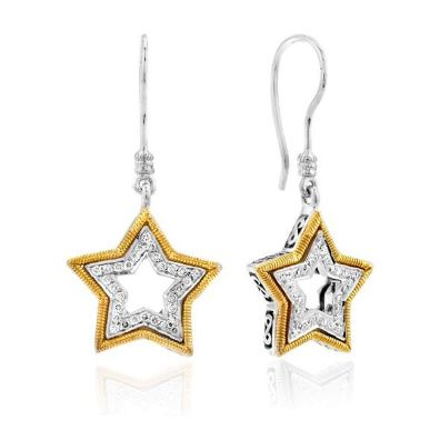 Yellow Diamond Earrings - See more amazing jewelry at GlamJewelry.org!
