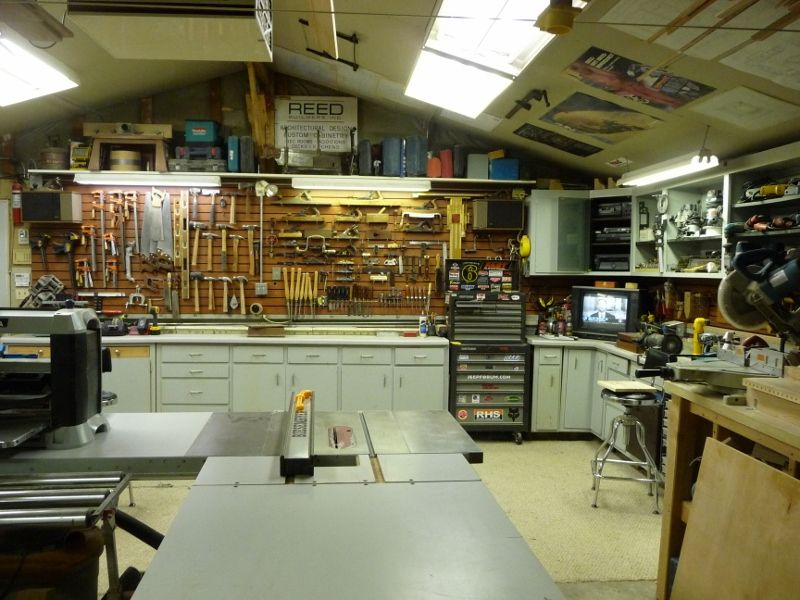 Reed S Woodshop Shop Tours Fine Woodworking