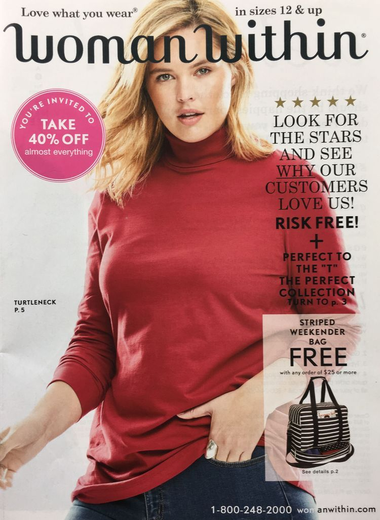 How to Get a Free Woman Within Catalog in the Mail ...
