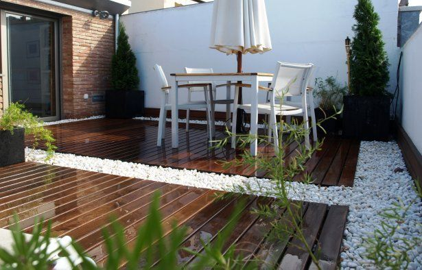 Decoraci n de terrazas y patios ambientes pinterest for Decoracion para patios exteriores