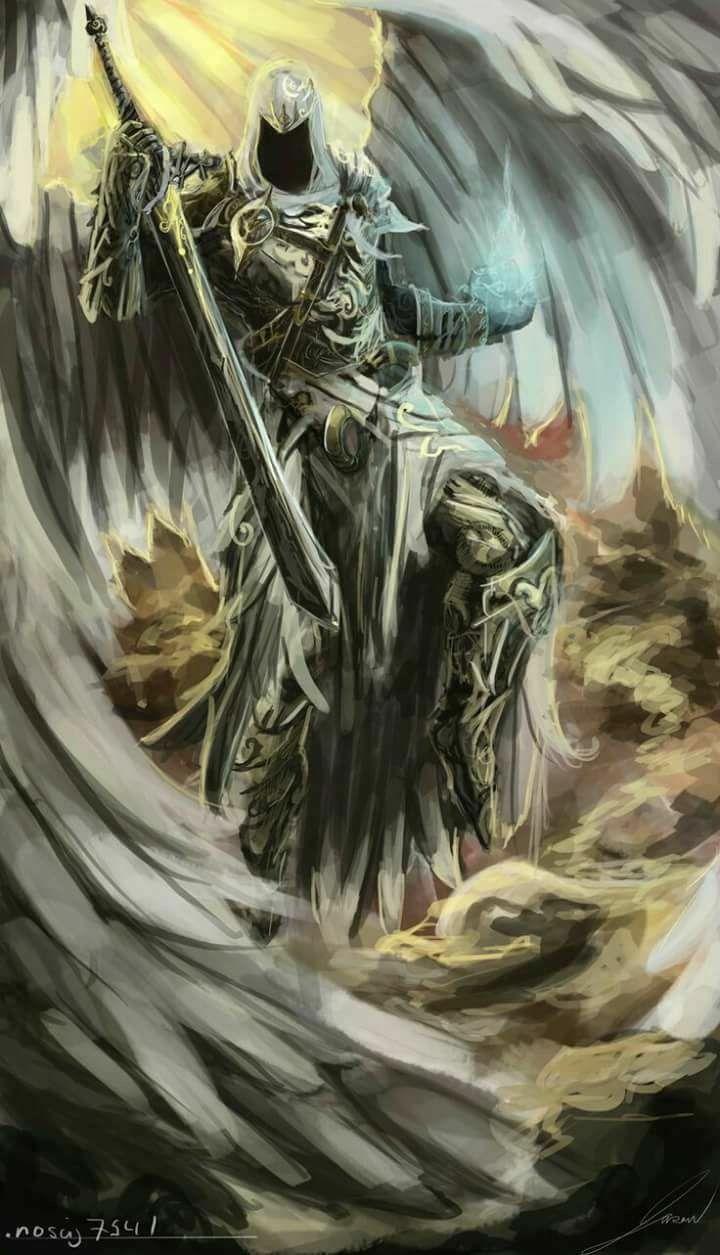 Anjo Guerreiro Base Da Tattoo Com Imagens Anjo Guerreiro