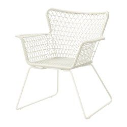 Superieur IKEA   HÖGSTEN, Chair With Armrests, Outdoor, Hand Woven Plastic Rattan  Looks Like Natural Rattan But Is More Durable For Outdoor Use.
