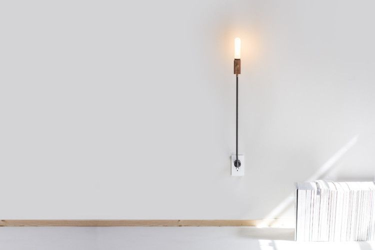 Plug in wall light walls lights and swing arm wall lamps plug in wall light mad about the house aloadofball Gallery