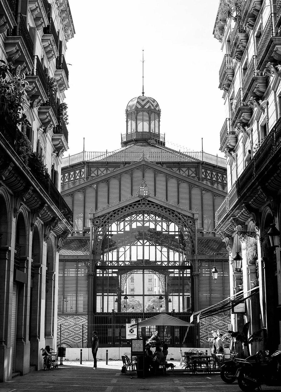 mercat del born - barcelona cat