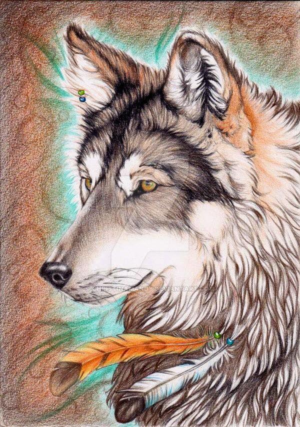 Gorgeous Wolf Art