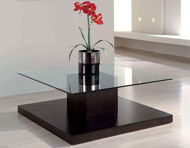 Mesa de centro moderna olivia material madera de roble for Mesas de centro modernas