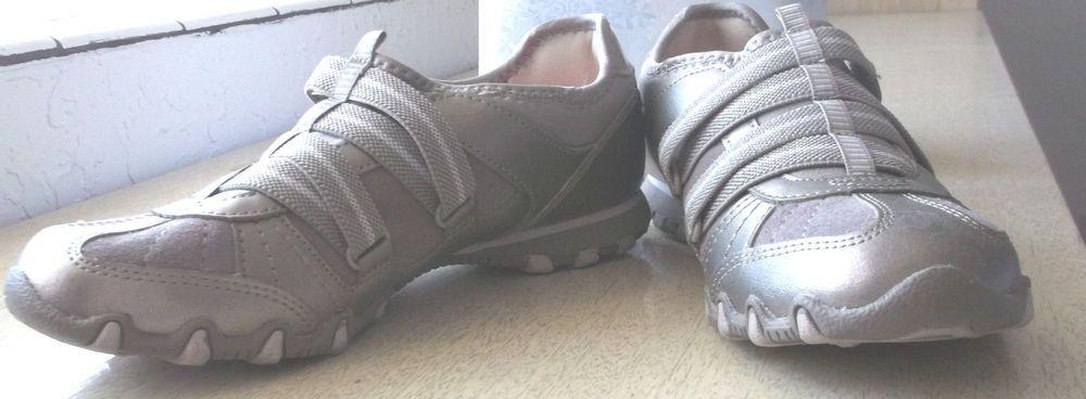 SKECHERS Slip On Athletic Bikers Shoes
