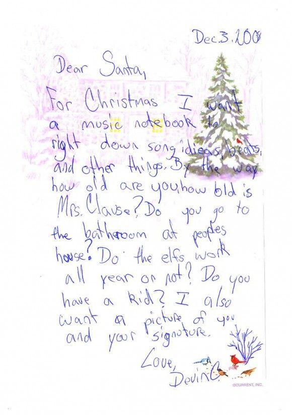 icolor little kids christmas collection santa letter template letter templates letter to