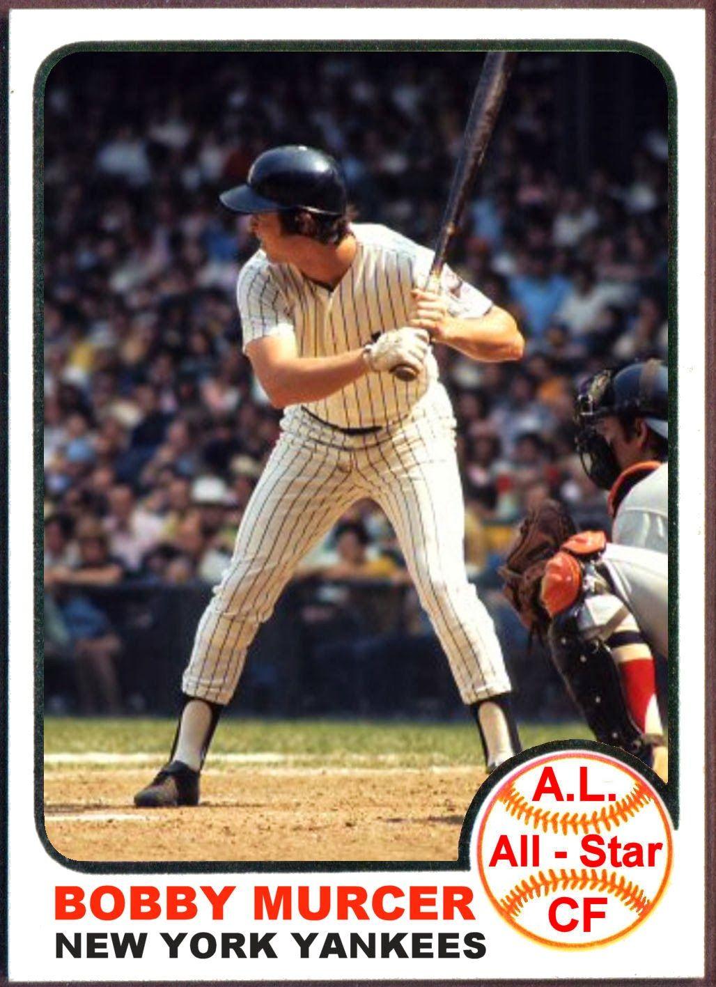 1973 Topps Bobby Murcer AllStar. Baseball Cards That