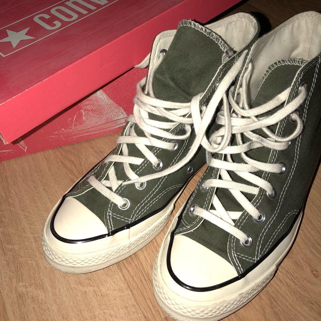 Converse Shoes   Converse Chuck 70   Color: BlackGreen