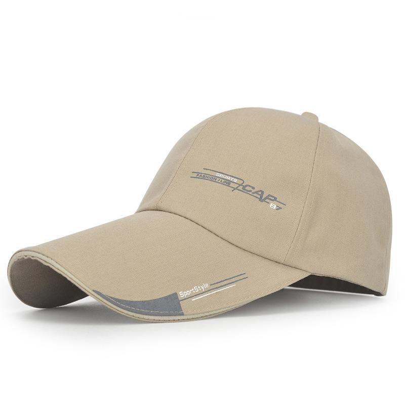 ad4446e56c8 Kioninai 2018 Sports Cap Mens Hat For Fish Outdoor Fashion Line Baseball  Cap Long Visor Brim