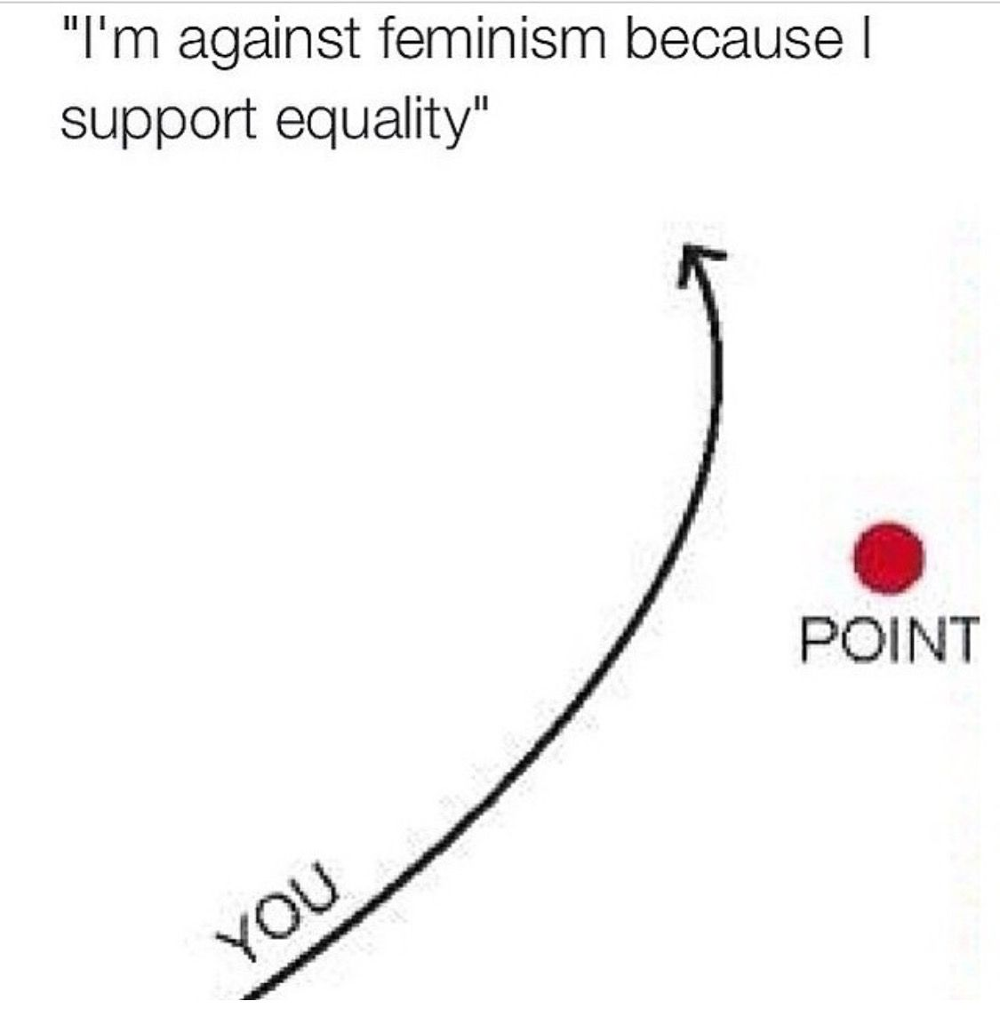 for the anti-feminist people. #feminism
