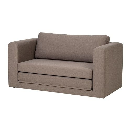 Best Askeby 2 Seat Sofa Bed Dansbo Medium Brown Chair Bed 400 x 300