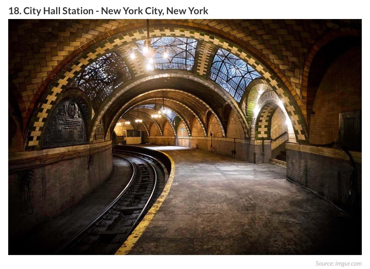 Rehab addict 1904 mansion -  Photo By John Paul Palescandolo The City Hall Subway Station Opened In October 1904 And Was Part Of The First Line Of The