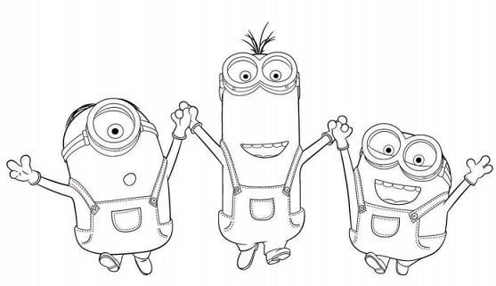 Free Printable Minions Activity Book | Pinterest | Colorear