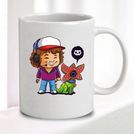 Stranger Things Mug Dustin Dart Great Gift 10oz Mugs Stranger Things Great Gifts