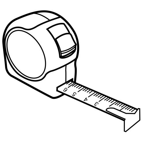 measuring-tape-coloring-page | outils?§?tools | pinterest ... - Tools Coloring Pages Screwdriver