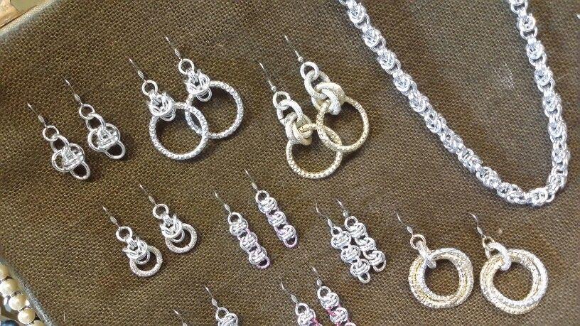 Alchimia orecchini in alluminio. alchimia5874@gmail.com