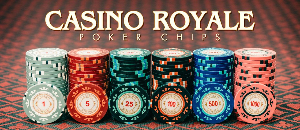 $5,000 CASINO ROYALE POKER CHIPS 25