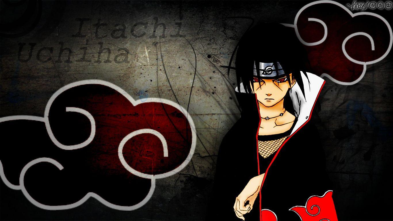Naruto Shippuden Itachi Wallpaper Hd 9gl Com Imagens Desenhos