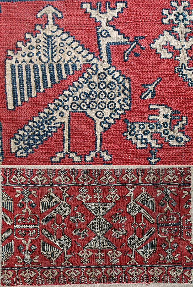 Africa antique moroccan textile embroidery a strip of azemmour