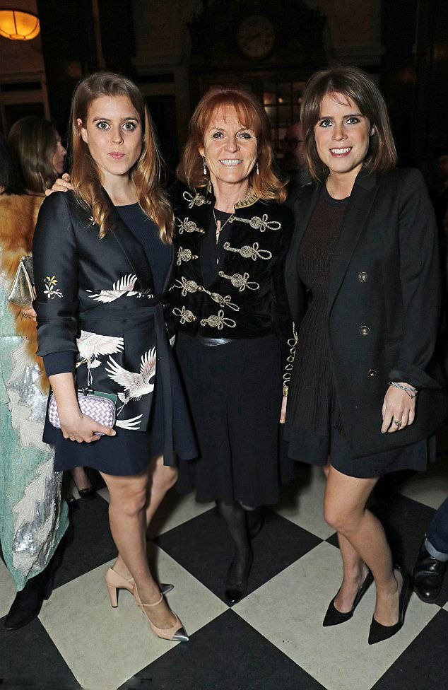 Royal Sisters....(L to R) Princess Beatrice of York, Sarah