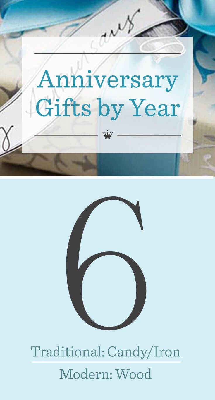 6th Wedding Anniversary Gift Ideas Wedding Anniversary Gifts