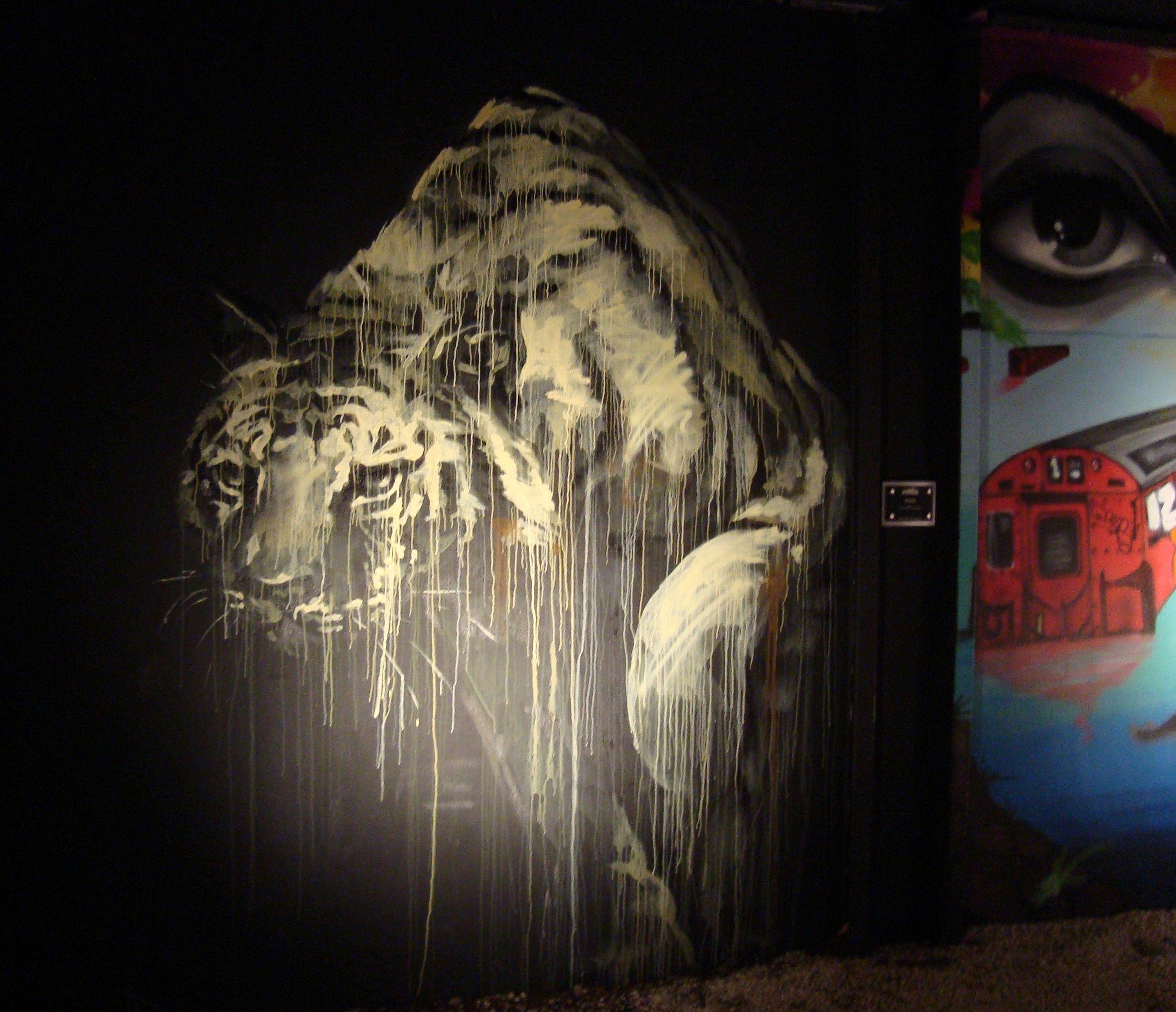 Mural in Wynwood Arts District #streetart #mural