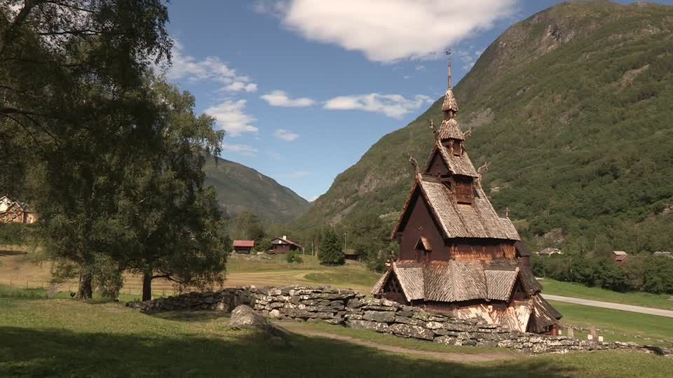 893656345 Borgund Stave Church Traditional Architecture Wood Construction  (960×540) | Village House Design | Pinterest