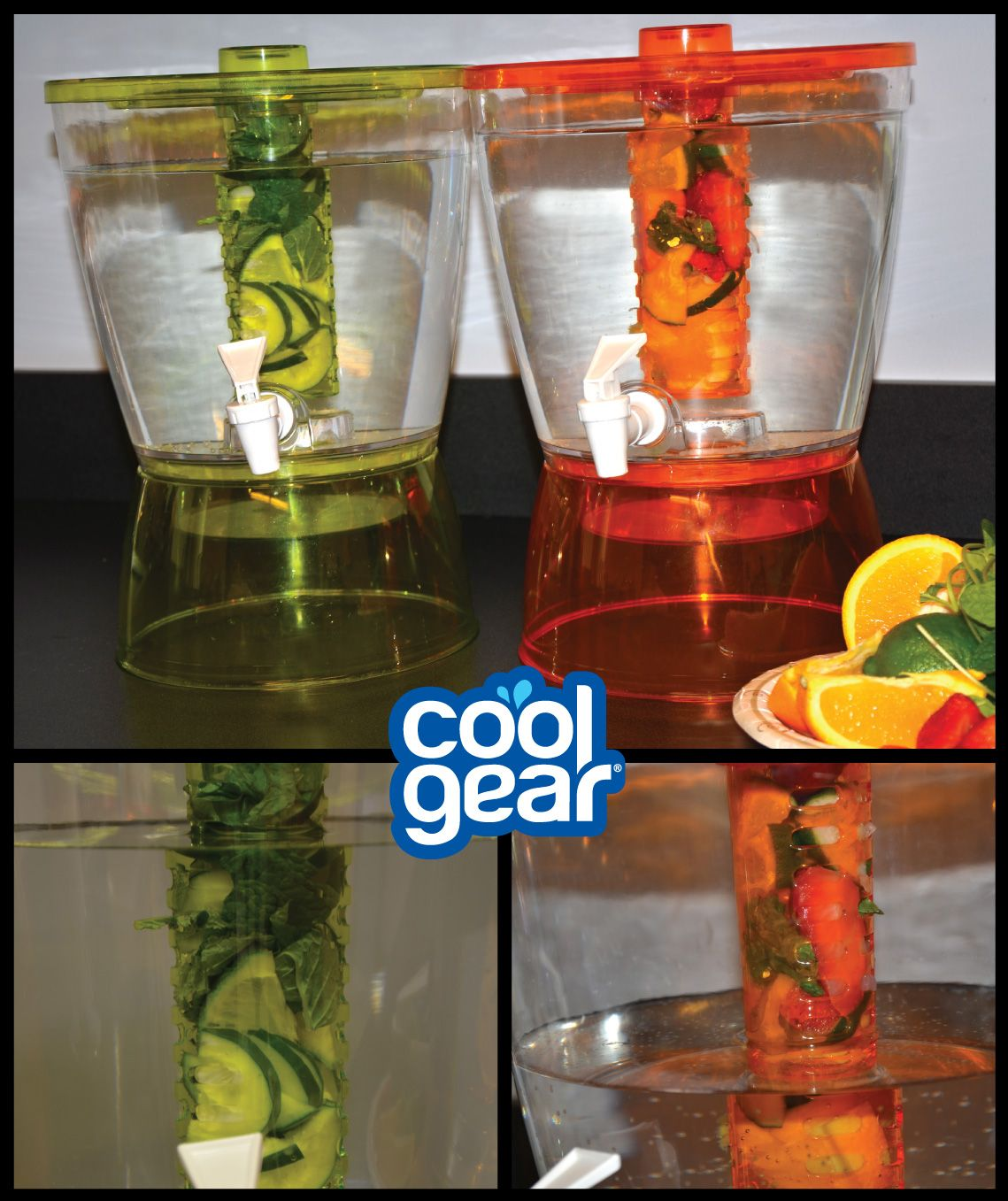 Fun Sunday Brunch Party Idea Infused Water Station With The Cool