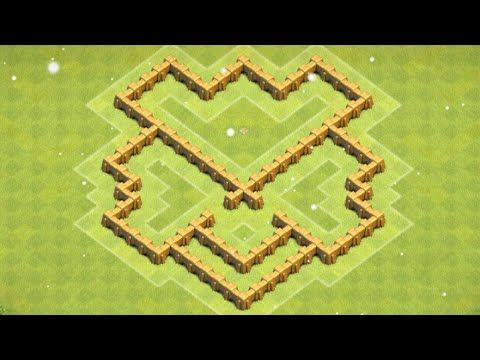 Clash of Clans - *NEW BEST* Town Hall 5 Defense Strategy - CoC Th5 Farming Base /Village Layout 2015 - YouTube