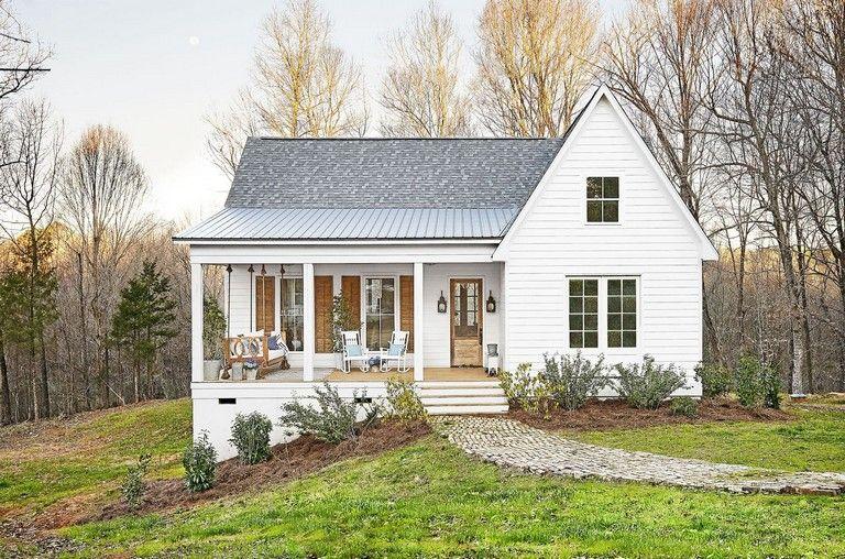 41 Top Simple Modern Farmhouse Plans Design Ideas And Renovation Modern Farmhouse Exterior Modern Farmhouse Plans Farmhouse Exterior