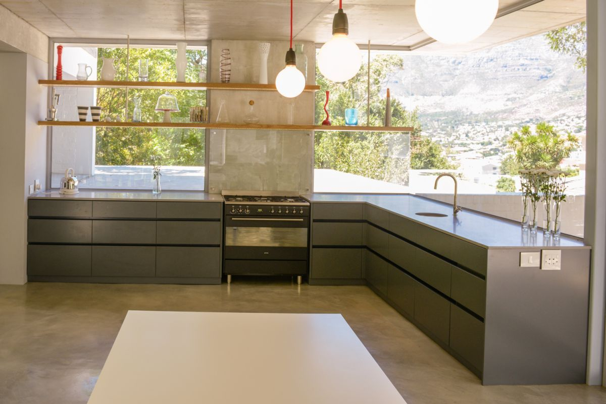 Love the light from the big windows kitchens pinterest kitchen