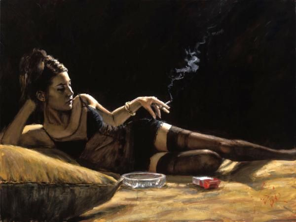 Paintings by Fabian Perez