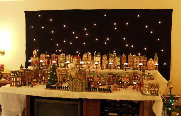 christmas village display description | Navidad | Pinterest ...
