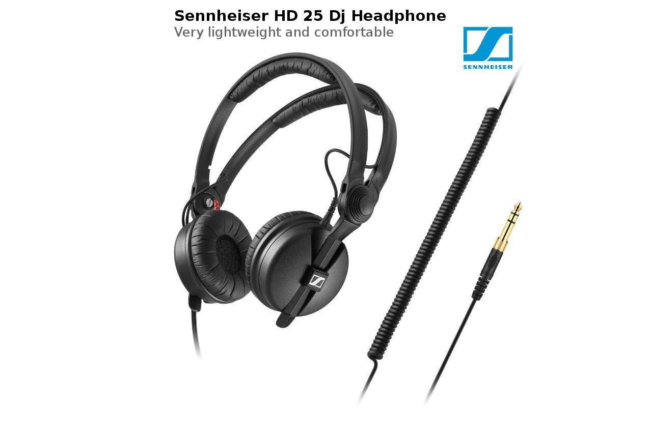 In This Sennheiser Hd 25 Review We Discussed Specs Features Design Compared With Sennheiser Hd 25 Light Sennheiser Studio Headphones Headphones